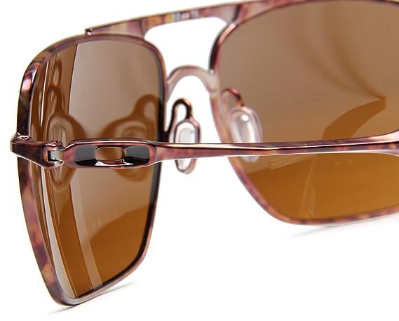 993e496c2f Amazon.com  Oakley Mens Deviation OO4061-08 Square Sunglasses