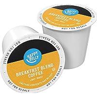 100-Count Amazon Brand Happy Belly Light Roast Coffee Pods