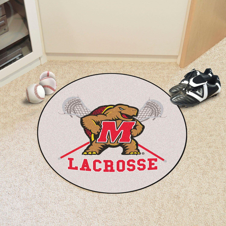 Fan Mats 10357 UM University of Maryland Terrapins 27 Diameter Lacrosse Area Rug