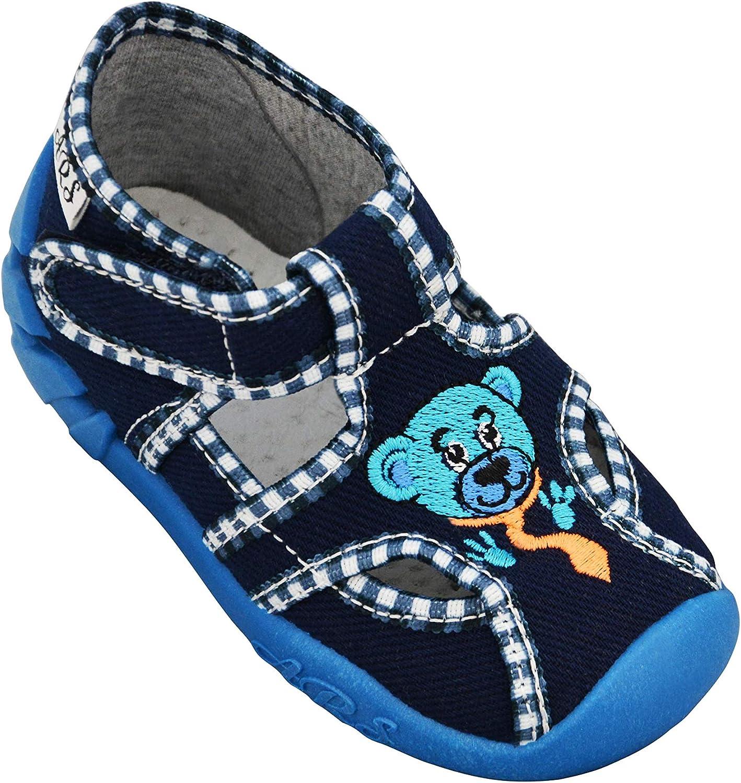 20 bis 26 ARS Babyschuhe Jungen Lauflernschuhe Kleinkind Neugeborene Sport Klettverschluss und Schnalle Hausschuhe mit Leder Einlegesohlen bis 1-3 Jahre Gr