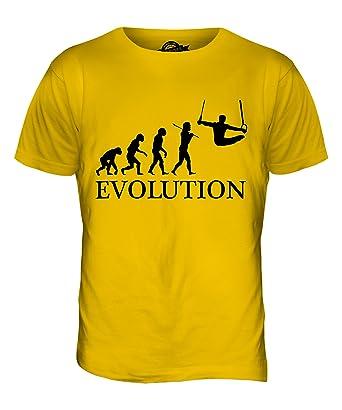 York Street Herren T-Shirt Gelb Butterscotch X-Small