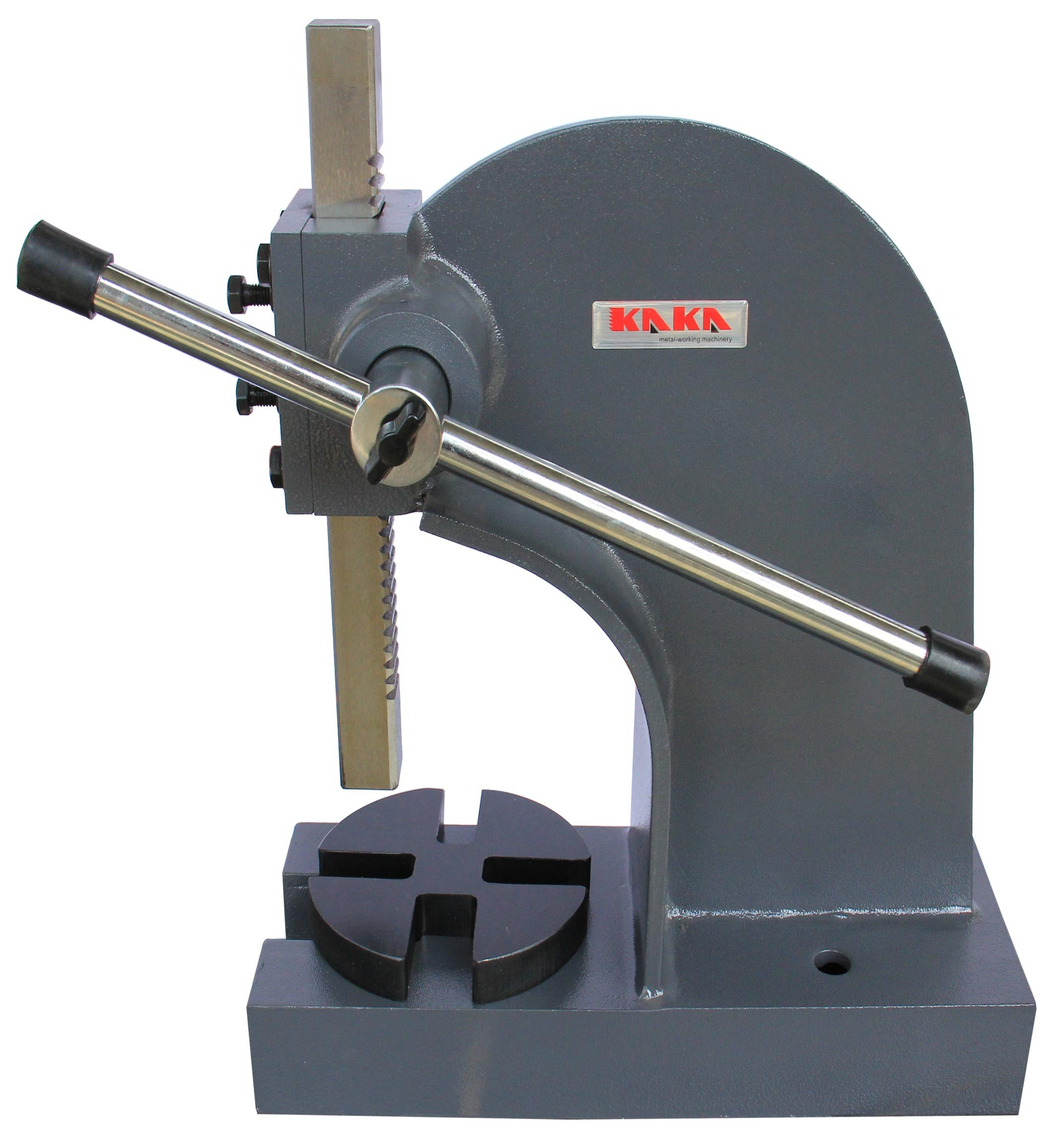KAKA Industrial AP-2 Arbor Press, 2 Ton Cast Iron Arbor Press, 7'' Height Heavy Duty Arbor Press