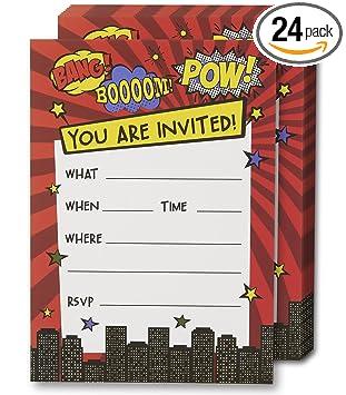 Amazon.com: Llena invitaciones con sobres, 5.0 x 7.0 in ...