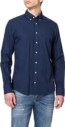 Hackett London Garment Dye Oxford Camisa para Hombre