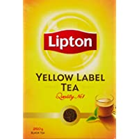 Lipton Yellow Label Leaf Carton, 250g