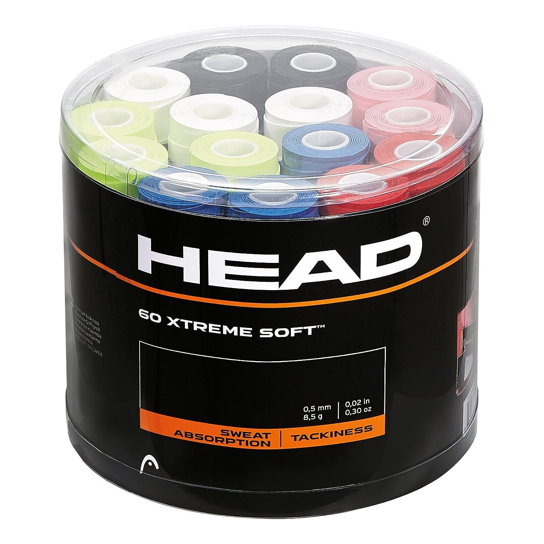 HEAD Uni Xtreme Soft 1960 Mixed Over Grip, Multicolore, Taille Unique HEADF #HEAD 285425
