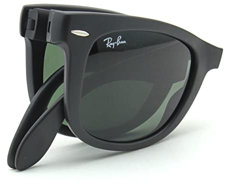 987232f918 Image Unavailable. Image not available for. Color  Ray-Ban RB4105 601S  WAYFARER FOLDING CLASSIC Sunglasses ...