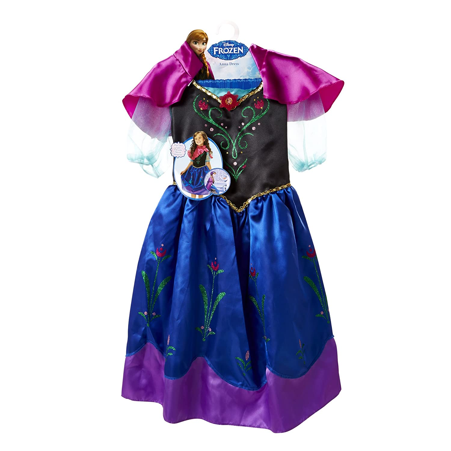 sc 1 st  Amazon.com & Amazon.com: Disney Frozen Anna New Adventure Dress 4-6x: Toys u0026 Games