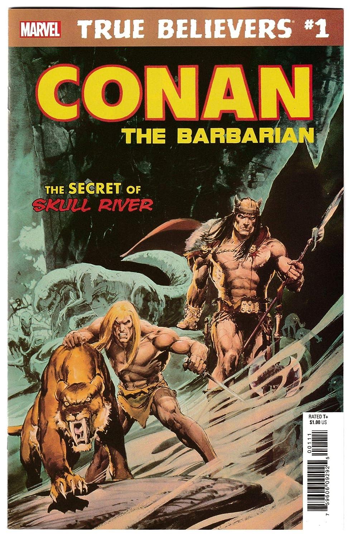 True Believers Conan Secret Of Skull River #1 Reprint Savage Tales #5 (2019) NM