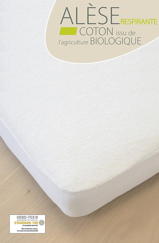 Bebé Algodón Orgánico Protector de colchón 70x140 cm Kadolis: Amazon.es: Bebé