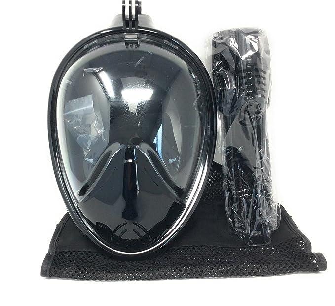 Amazon.com: sinwo figura de cara completa máscara de buceo ...