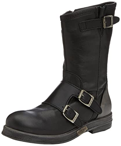 Replay Shie Black, Schuhe, Stiefel & Boots, Hohe Boots, Schwarz, Female, 36