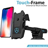 Able Long Neck One Touch Mount Holder for All Smartphones(3rd Generation, Black)