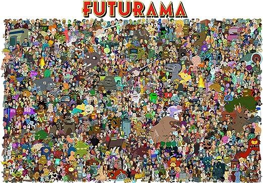 FUTURAMA TV SERIES// Planet Express Leela Kidrobot Fry LANYARD Keychain