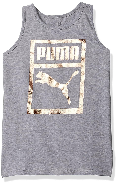 PUMA Big Girls Heritage Twist Back Tank