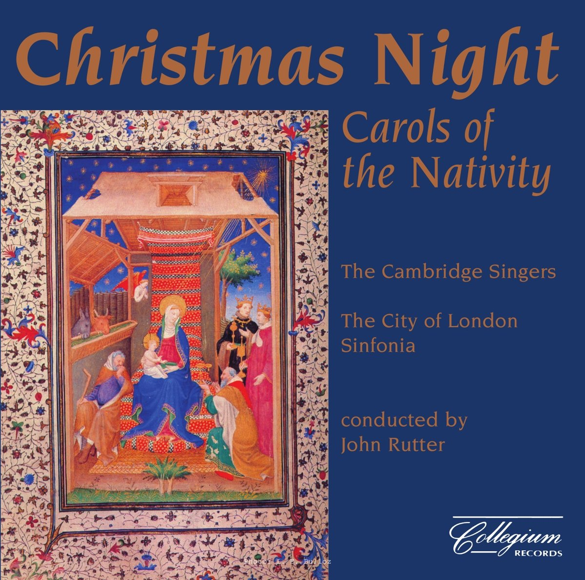 Christmas Night: Carols of the Nativity by COLLEGIUM