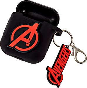 Marvel Avengers AirPods Case Cover for Apple Airpods Compatible with Apple AirPods 1 & 2 Charging Case