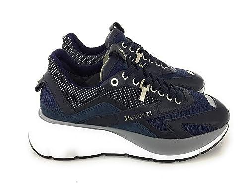 low priced e9756 513f9 Cesare Paciotti 4US, Sneakers Uomo,Blu: Amazon.it: Scarpe e ...