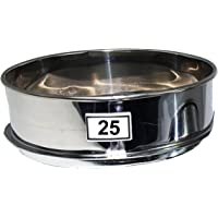 E-ONSALE Aluminum Herbal Pollen Stackable Sifter Micron Hash Extractor Sifter Shaker (25M Single Sifter)