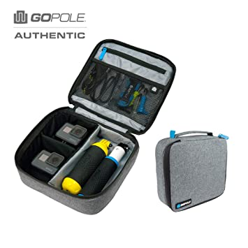 GoPole GPVC-17 estuche para cámara fotográfica Caja compacta Negro, Gris - Funda (Caja compacta, GoPro, HERO6, HERO5, HERO5 Session, HERO Session, ...