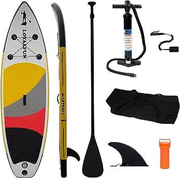 Loyal Fun Sup Calidad y Hinchable Stand Up Paddle Board Set con 3 ...