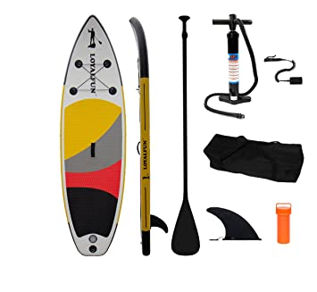 Loyal Fun Sup Calidad y Hinchable Stand Up Paddle Board Set con 3 Juego de Aluminio Remo, hochd Loyal Fun: Amazon.es: Deportes y aire libre