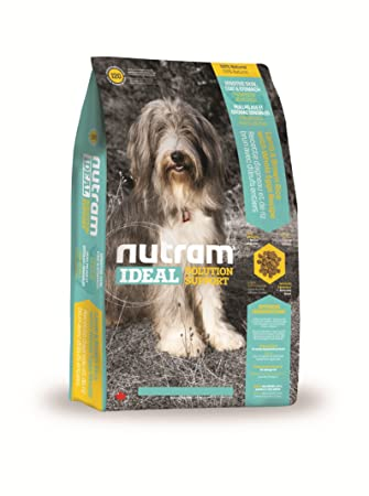 Nutram Dog Food Sensitive Skin Coat Stomach Lamb And Brown Rice With