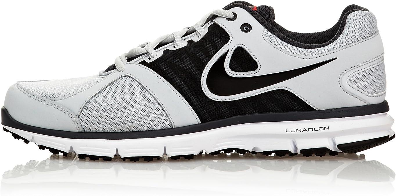 NIKE Zapatillas Lunar Forever 2 Gris/Negro EU 44 (US 10): Amazon.es: Zapatos y complementos