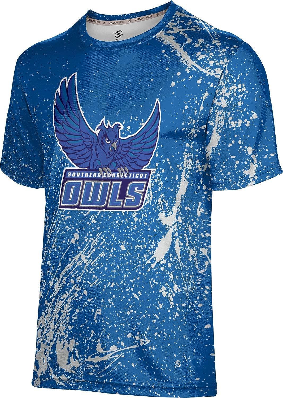 ProSphere Southern Connecticut State University Mens Performance T-Shirt Splatter