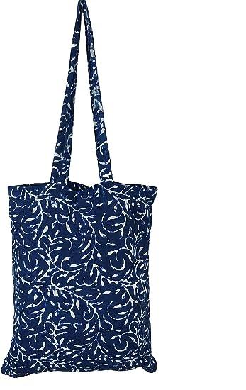 Bolsa de la compra, color azul, ecológica, plegable, duradero ...
