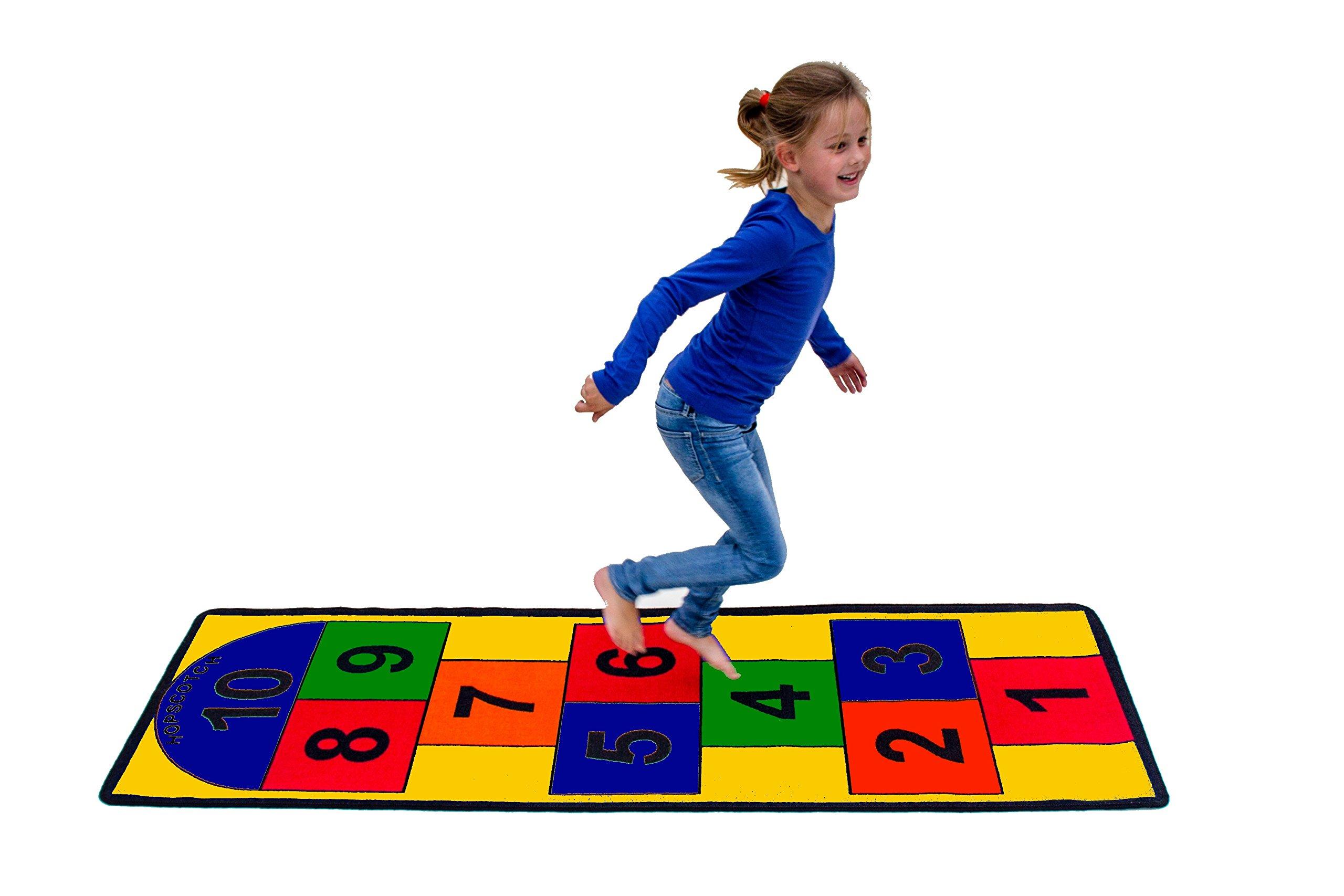 Learning Carpets Hopscotch II Play Carpet