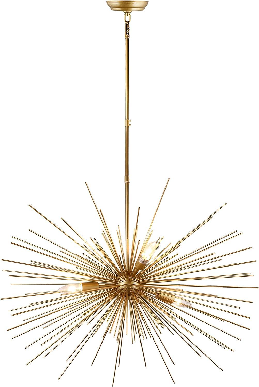 31 Inch Astra Sputnik Satellite Starburst Chandelier Urchin 4 Light Gold Amazon Com