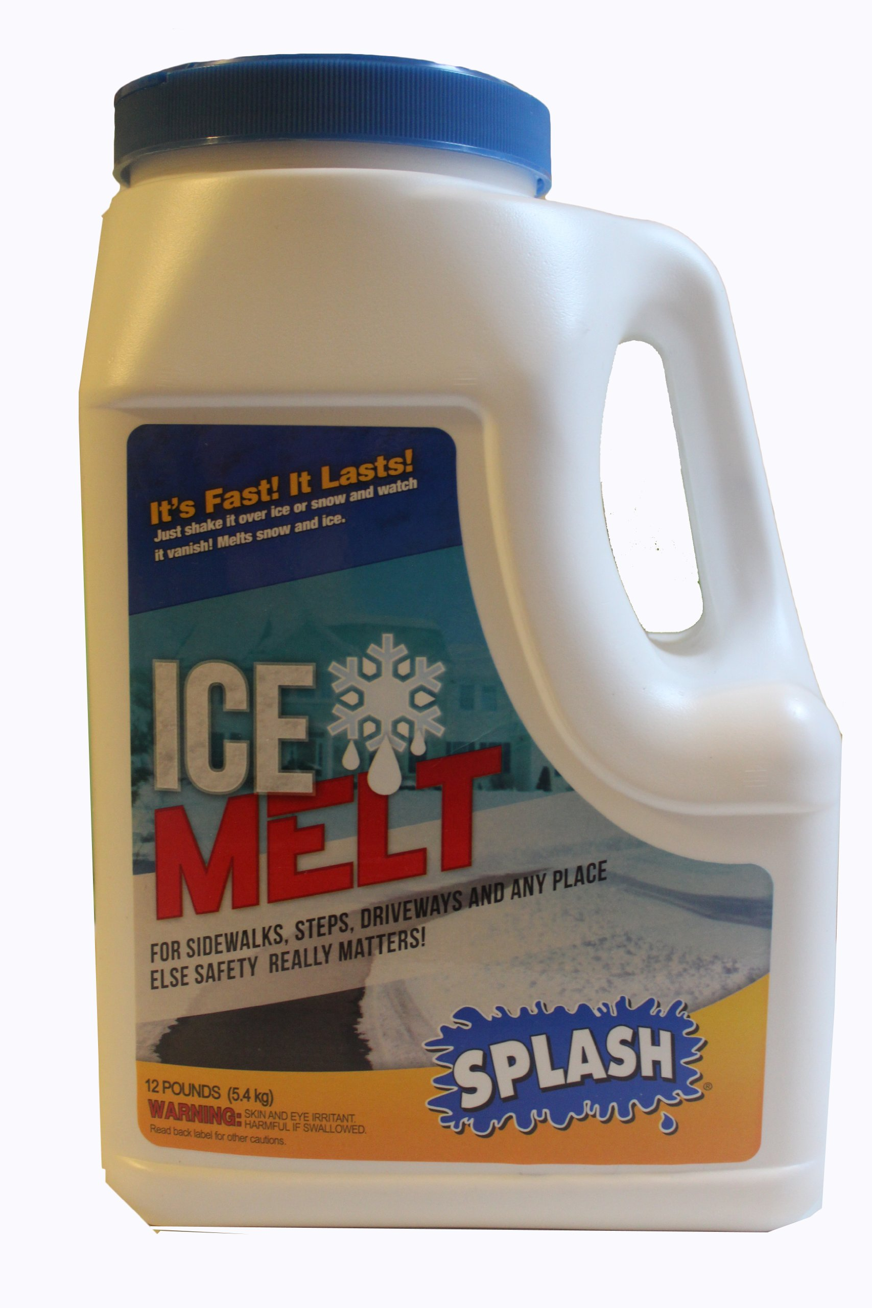 Splash Ice Melt, Snow & Ice Melter, 12 Lb Jug