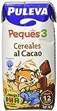 Puleva Peques 3 Leche Infantil Líquida Crecimiento Cereales al Cacao - 8 Packs
