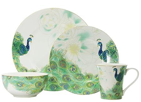 222 Fifth Lakshmi 16-Piece Dinnerware Set, Service for 4