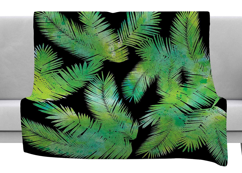 60 by 50 Kess InHouse Nick Nareshni Sun Over Scripps Pier Tan Brown Fleece Throw Blanket