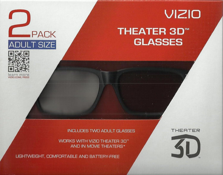 Vizio XPG302 Theater 3D Glasses - Adult Size
