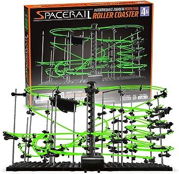 Space Rail Level 2 Baukasten Achterbahn Spielzeug Spacewarp Marble Run Rail DE
