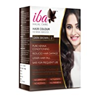 Iba Halal Care Hair Colour, Dark Brown, 60g