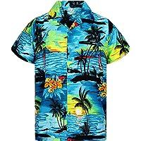 Funky Camisa Hawaiana Señores   XS -6XL   Manga Corta   Bolsillo Delantero   impresión De Hawaii  Diseños de Surf únicos