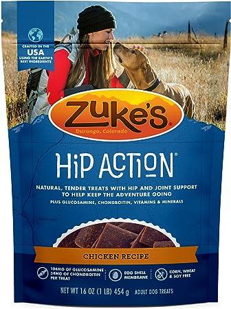 Zukes Natural Hip /& Joint Dog Treats