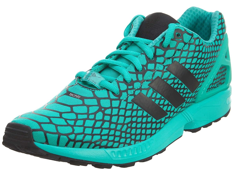 adidas Zx Flux Techfit Casual Men's Shoes Size B01G4J5Z3W 7.5 D(M) US Core Black/Shock Mint