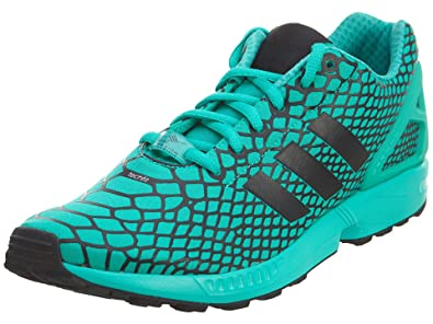 773175757689 adidas ZX Flux Techfit Men s Shoes Core Black Shock Mint s79065 (8 D(