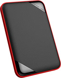 """Silicon Power 5TB Rugged Armor A62L Shockproof/ IPX4 Water-Resistant/Dustproof/Anti-Scratch USB 3.0 2.5"""" Portable External Hard Drive for for PC, Mac, Xbox and PS4"""