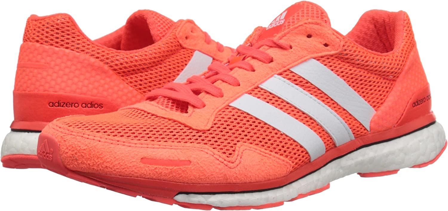 columpio Escalera completamente  adidas Performance Women's Adizero Adios W Running Shoe | Athletic -  Amazon.com
