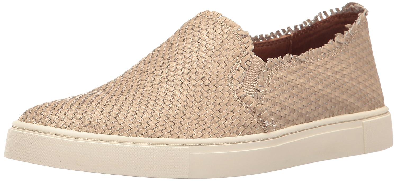 FRYE Women's Ivy Fray Woven Slip Fashion Sneaker B01JZUQ0R2 6 M US|Cement
