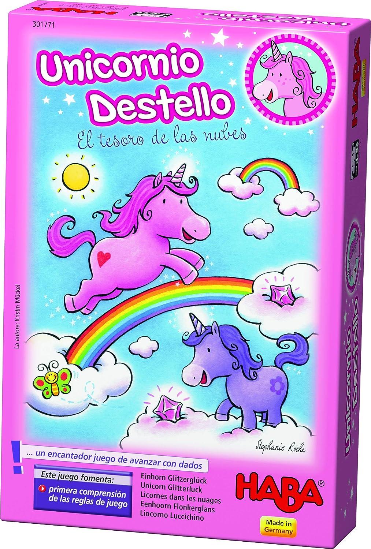 HABA- Unicornio Destello El Tesoro de Las Nubes (301771)