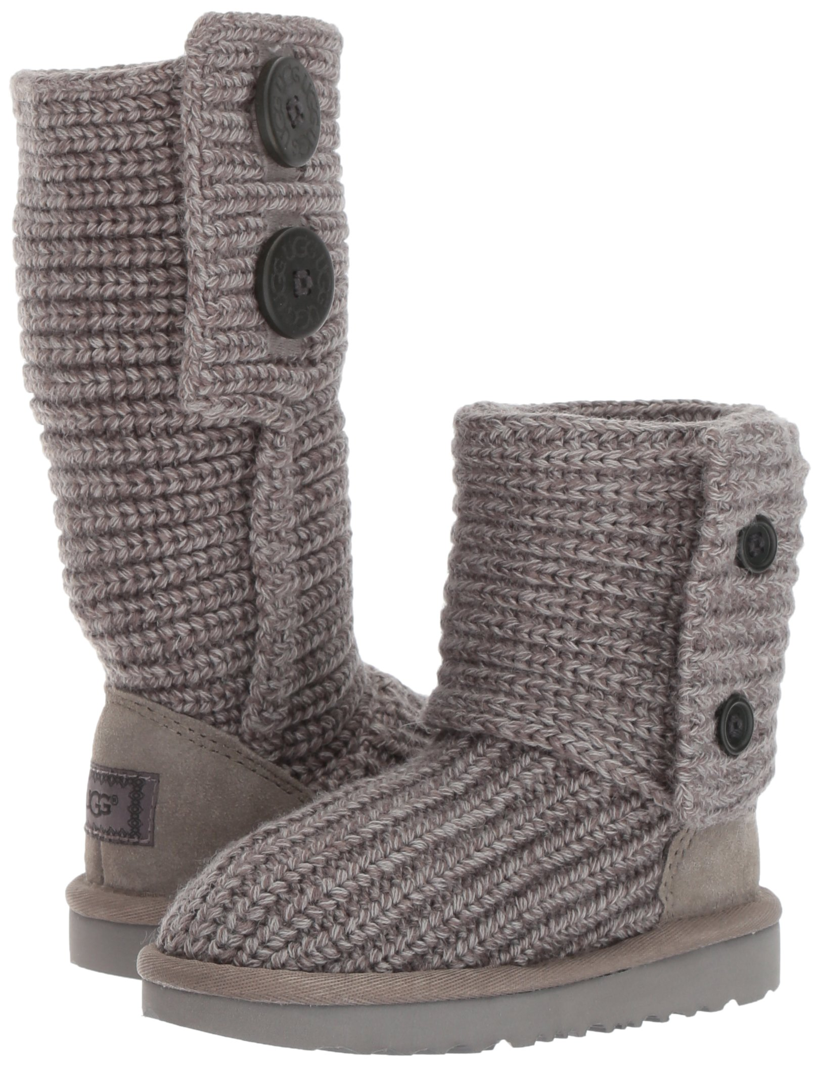 UGG Girls K Cardy II Pull-on Boot, Grey, 13 M US Little Kid by UGG (Image #6)