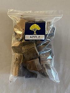 J.C.'s Smoking Wood Chunks - Gallon Sized Bag - Apple
