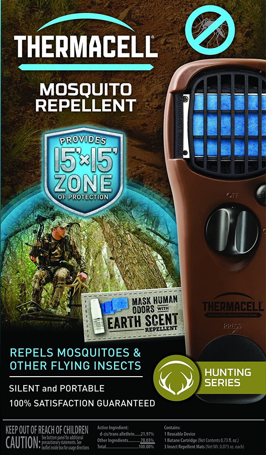 amazon com thermacell mosquito repellent outdoor and camping